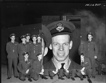 Squadron photo Jan 1944 Alex Hunter