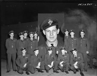 Squadron photo Jan 1944 Art Horrell