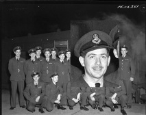 Squadron photo Jan 1944 C E Scarlet