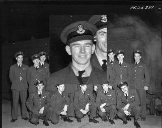 Squadron photo Jan 1944 L H Wilson