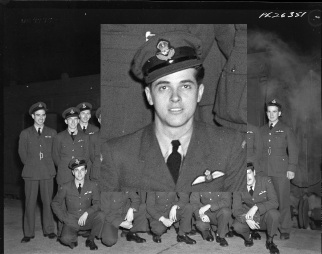 Squadron photo Jan 1944 Luis Perez-Gomez