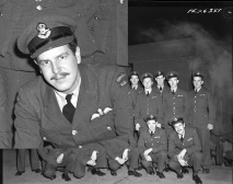 Squadron photo Jan 1944 P G Bockman