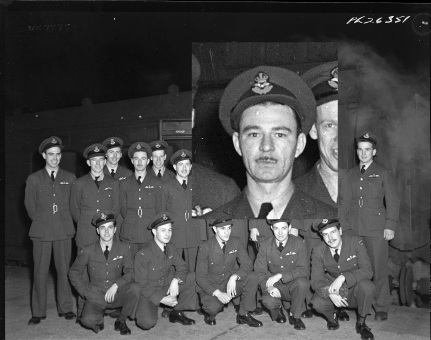 Squadron photo Jan 1944 Paul Emile Piché