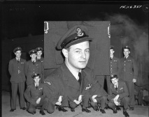 Squadron photo Jan 1944 unidentified pilot