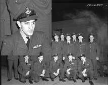 Squadron photo Jan 1944 W A Aziz